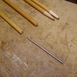 Shafts and finishing nail