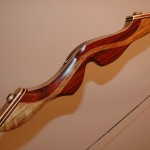 Recurve Riser Side View