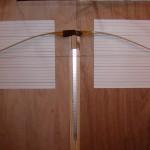 Osage reflex deflex bow braced