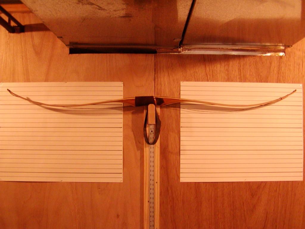 Osage reflex deflex bow unstrung