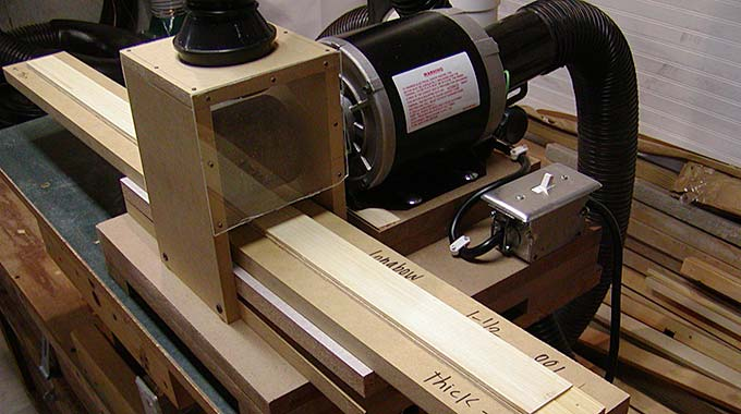 How To Make A Simple Thickness Sander For Bow Laminations