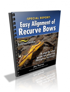 Easy Alignment of Recurve Bows