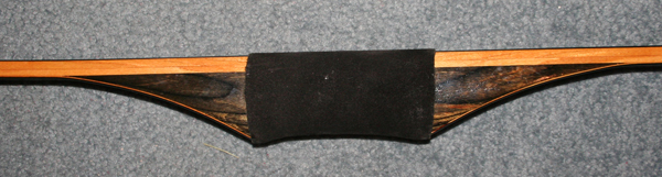 dished style longbow grip