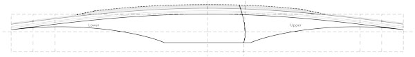 straight style longbow grip template