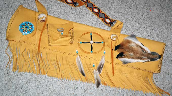 How To Make A Plains Indian Quiver